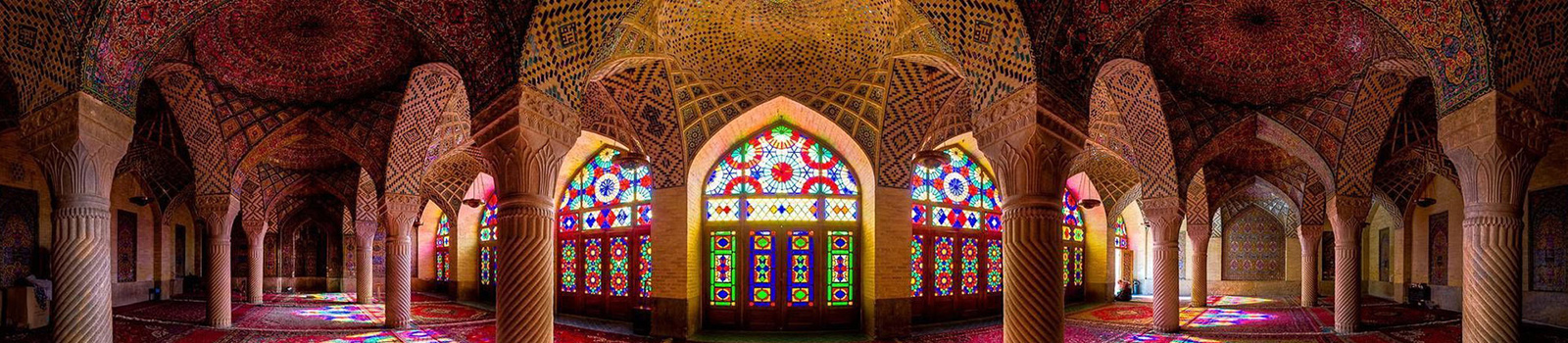 Nasir Al Mulk Mosque in Shiraz